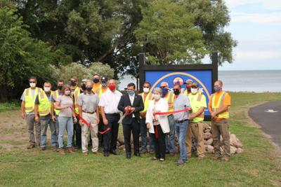 Lakeside Park opens, will improve city's east shore water access