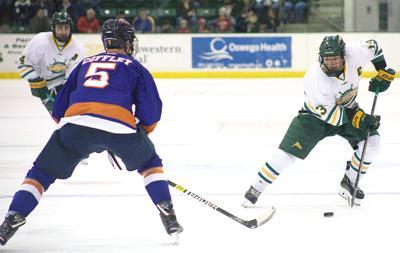 Men's hockey action