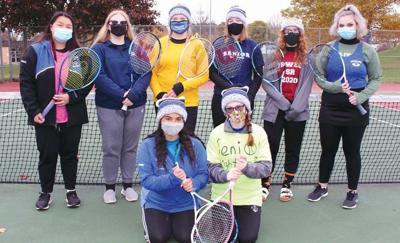 Oswego tennis seniors are honored