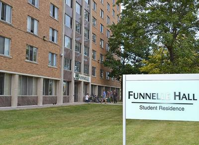 SUNY Oswego's Funnelle Hall to be used for COVID-19 Quarantine (copy)