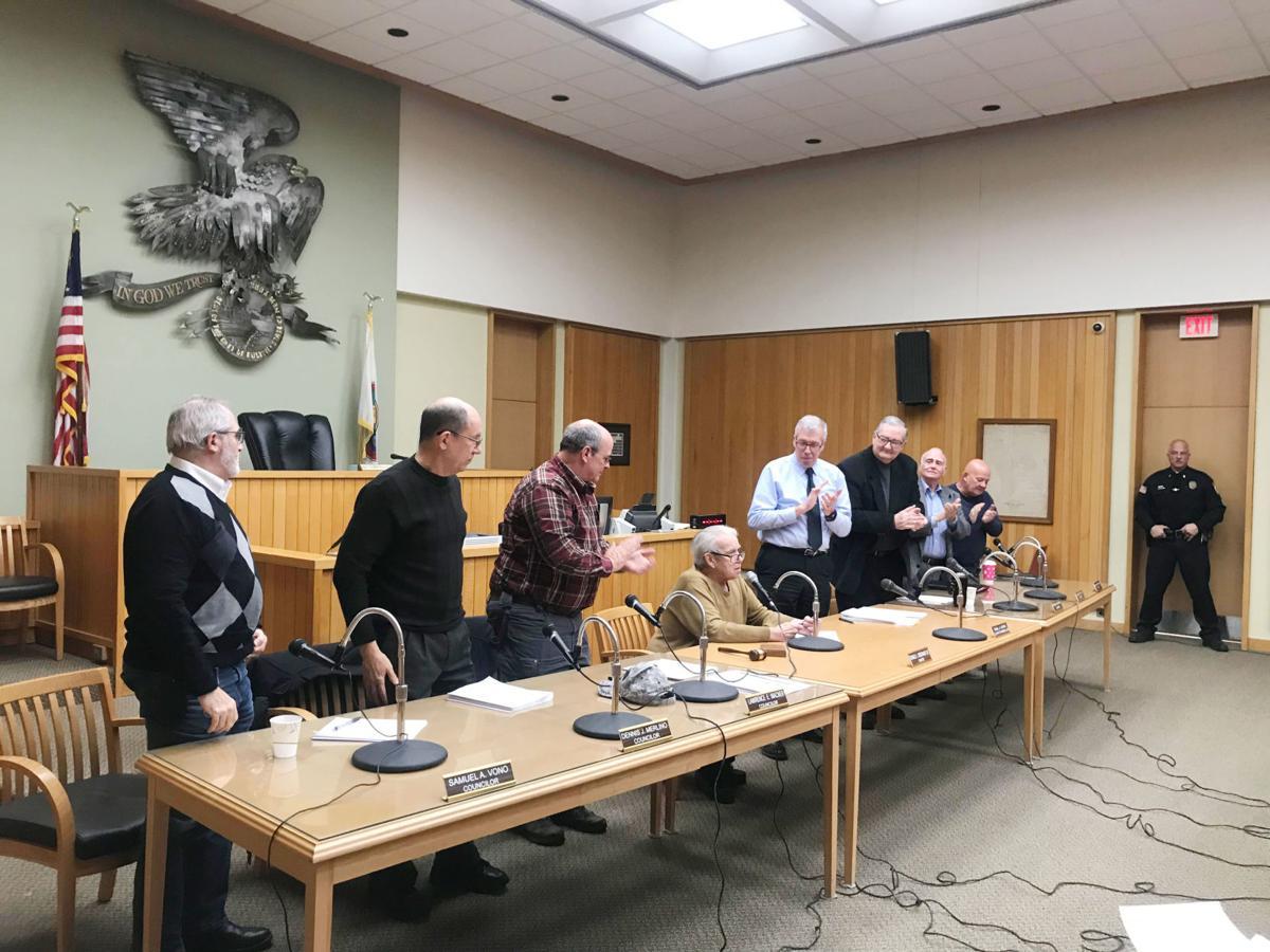 Woodward final council meeting