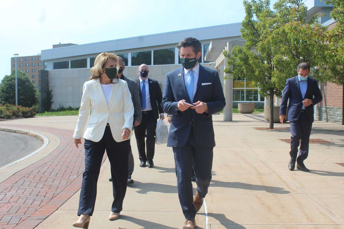 SUNY Chancellor: Oswego an example of 'a good plan well executed'