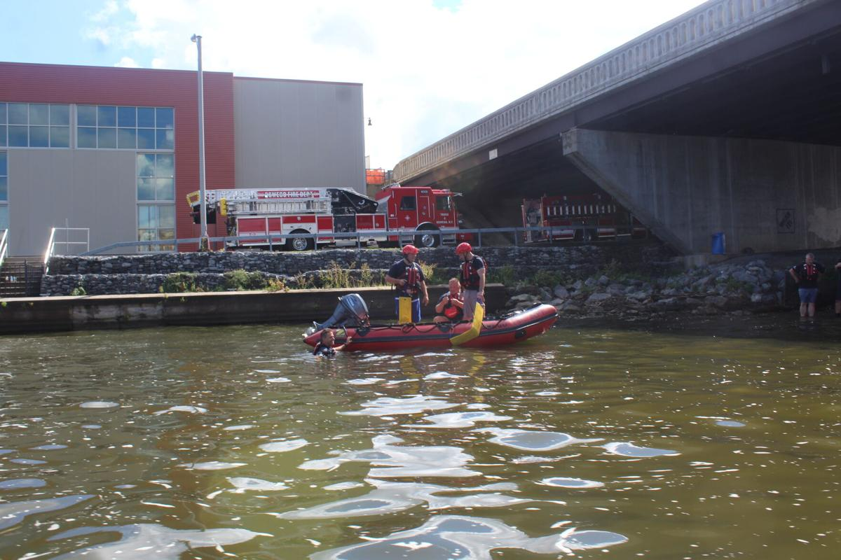 OFD, state police collaborate on life-saving water rescue training