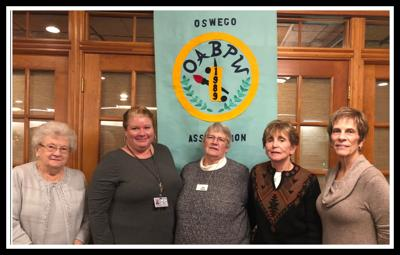 Oswego Association of Business and Professional Women's Club welcomes OFA's Weimer