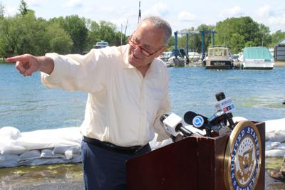 The soy must flow: Schumer gets Port of Oswego grain shipment moving again