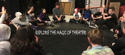 Theater arts youth academy begins second semester