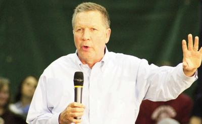 Kasich looks to rally upstate moderates