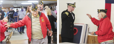 Restored with honor: Williamstown vet Britton finally receives Purple Heart