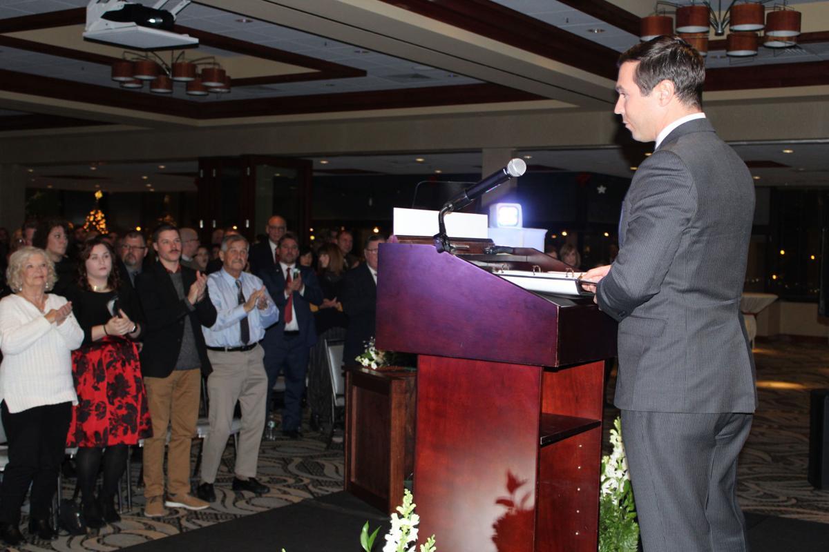 Barlow, Michaels take oaths of office in city ceremonies