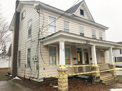 Oswego plans to raze 'infamous' zombie property | News ... on compound house plans, scary house plans, dreams house plans, smurf house plans, vampire house plans, mine craft house plans, fortified house plans, super luxury southern house plans, evil doll house plans, 18th century victorian house plans, nc house plans, hardened house plans, sci-fi house plans, survival house plans, homestead house plans, tactical house plans, cowboy house plans, manhattan house plans, floor mansion mega house plans,