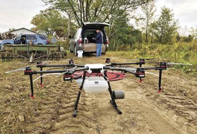 Fulton drone company earns crop spraying certification