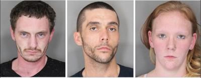 Three charged with felony meth possession, production