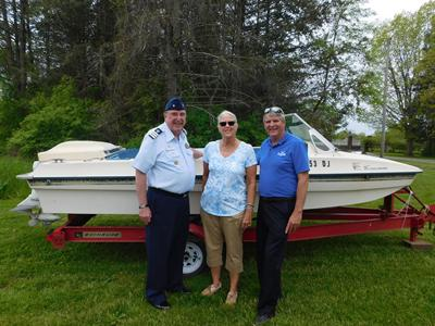 Daughter Donates Dad's Boat for Safety Campaign; Honors WWII Veteran, Career Educator