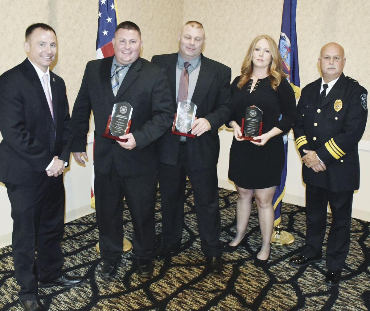 OPD Officers recognized at CNY Chiefs of Police Awards
