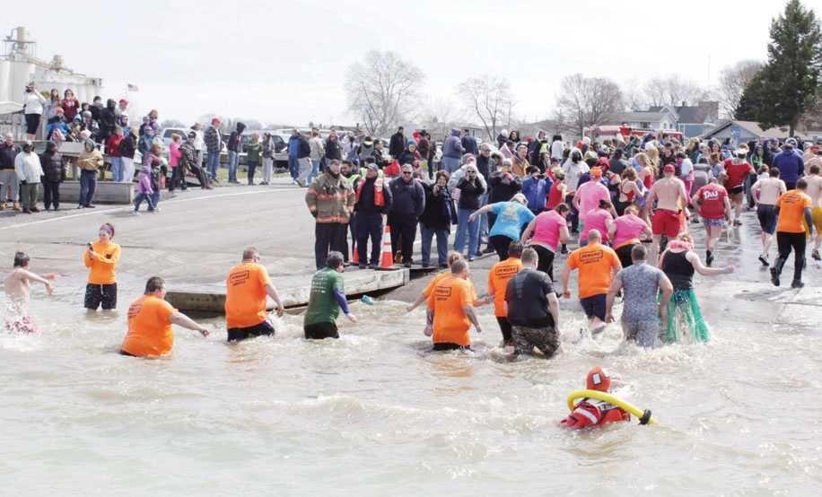 Polar Plunge raises money for Special Olympics