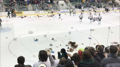 SUNY Oswego's Virtual Teddy Bear Toss to support local families