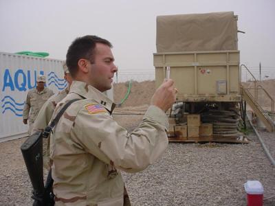 Kenneth Spicer 2003 Iraq photo