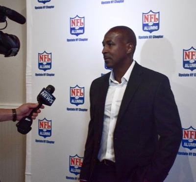 Former NFL's Leroy Collins in the spotlight