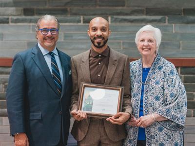 Emmy Award-winning SUNY Oswego alumnus honored with GOLD Award