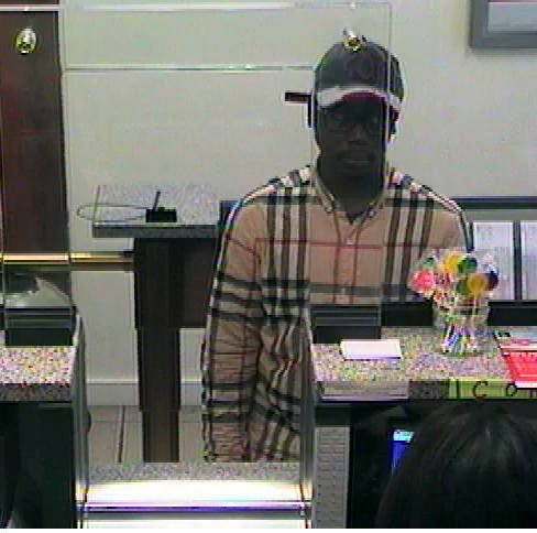 Police: Chase Bank robber has long rap sheet, colorful nickname