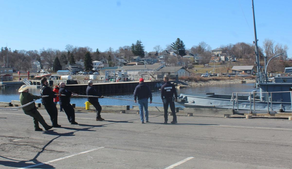LT-5 rescued after drifting into harbor, police investigating
