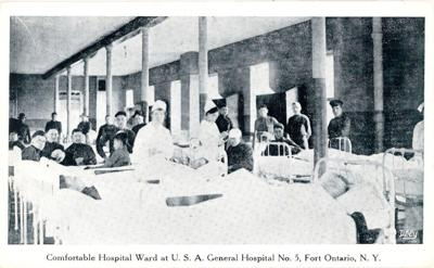 Fort Ontario - U.S.A. General Hospital #5