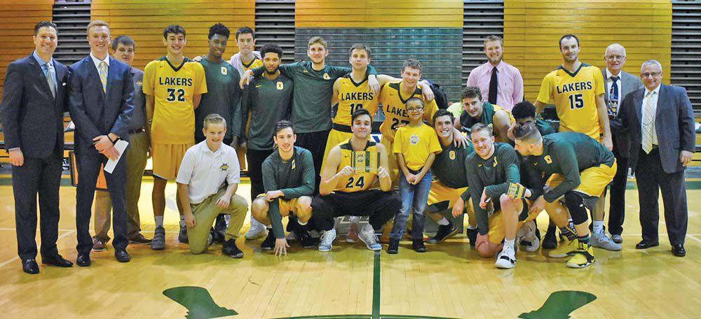 Laker men's basketball team wins Max Ziel Tournament title