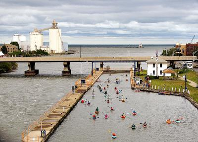 Oswego Paddlefest offers unique canal experience