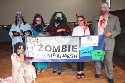 Zombie walk to benefit Arbor House