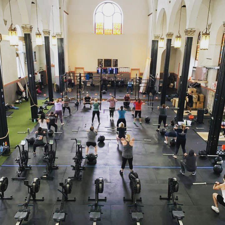 Sign of the CrossFit: New owners remodeling gym inside former St. John's Church