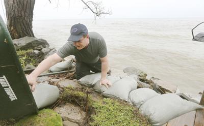 Lake Ontario peaks below historic flood levels