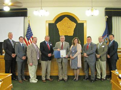 County commends Tryon