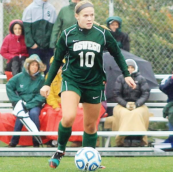 Oswego State grad Traynor named to SUNYAC All-Decade Team for women's soccer