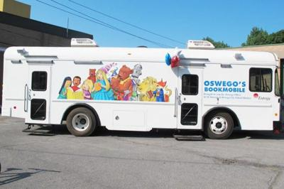 Oswego Bookmobile full summer 2020 schedule