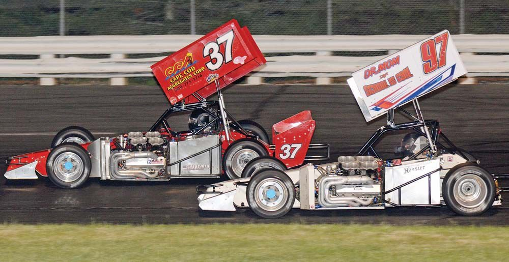 Seitz wins ISMA winged super modified feature at Stafford Motor Speedway