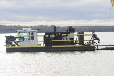 Fulton, Sen. Ritchie christen $200,000 dredging boat