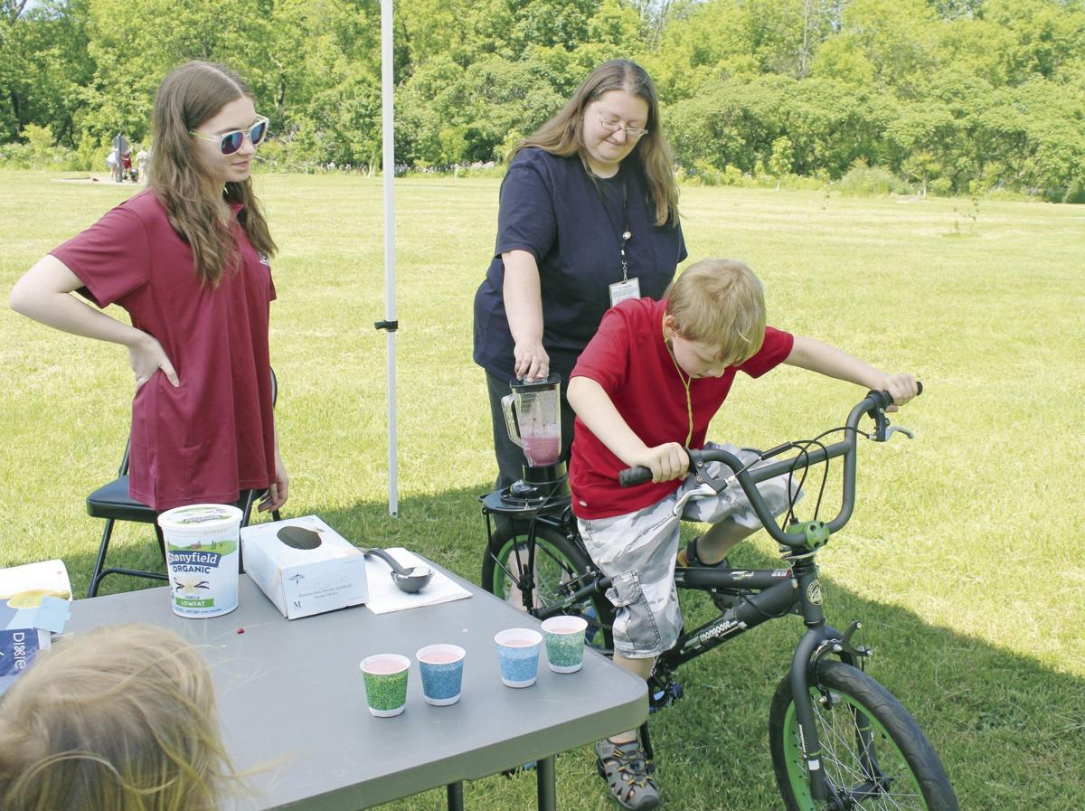 A day in VanBuren Park features fun in Fulton