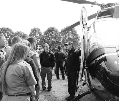 BOCES students train with Mercy Flight's air ambulance crew