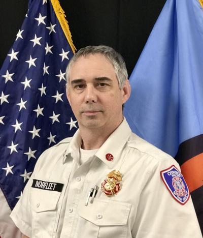 OFD Deputy Chief Norfleet retires