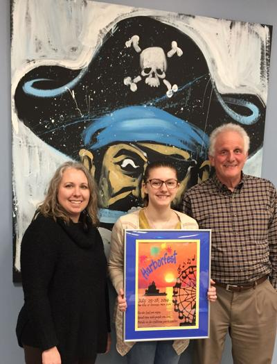 Harborfest selects OHS' Bouchard as poster contest winner