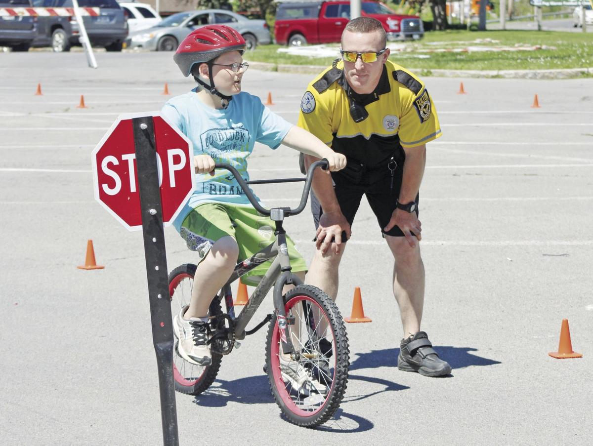Fulton Police Department holds Bike Rodeo