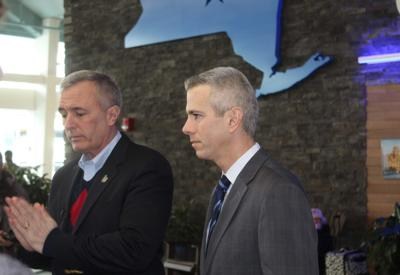 Katko, Brindisi: Release the hostages (copy)
