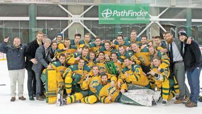 SUNY Oswego men's hockey team captures Pathfinder Bank Oswego
