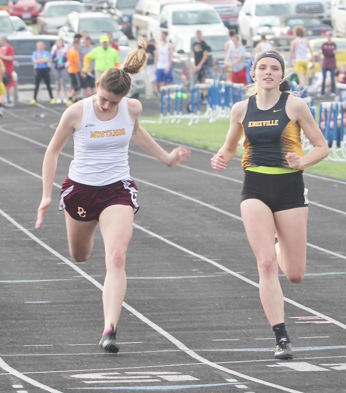 Knoxville girls collect SCC title