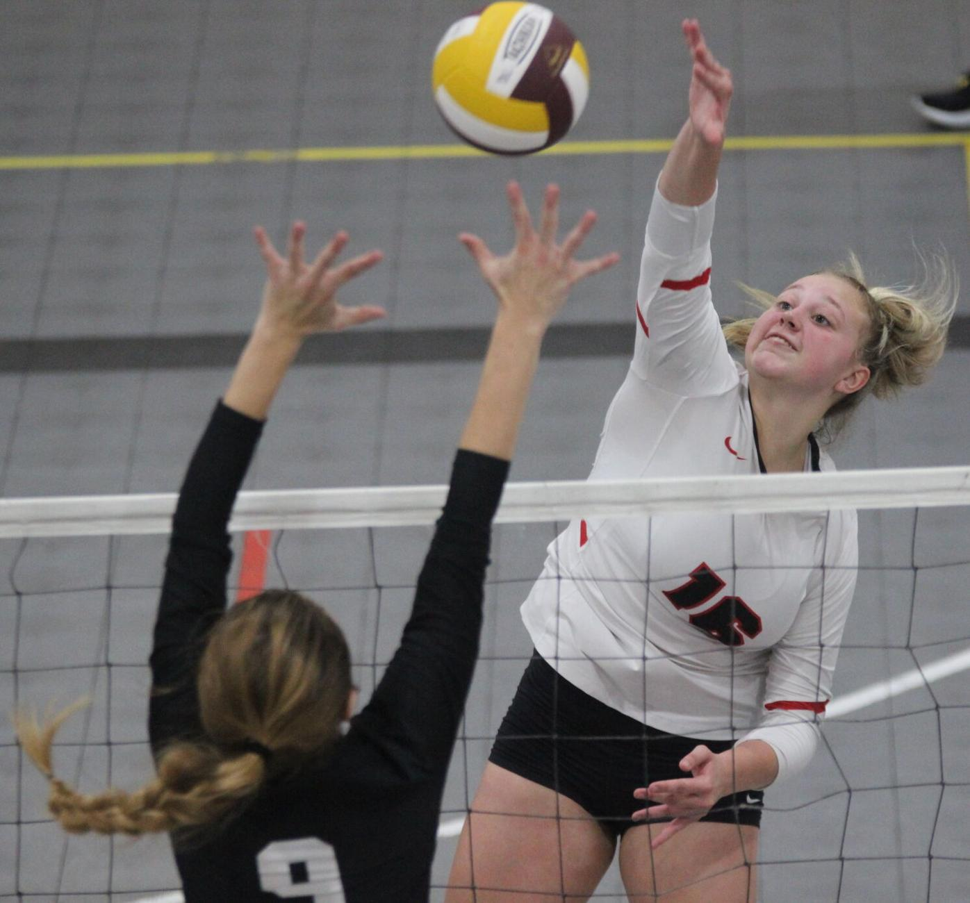 Moore earns All-Courier honors (2-4 column photo)