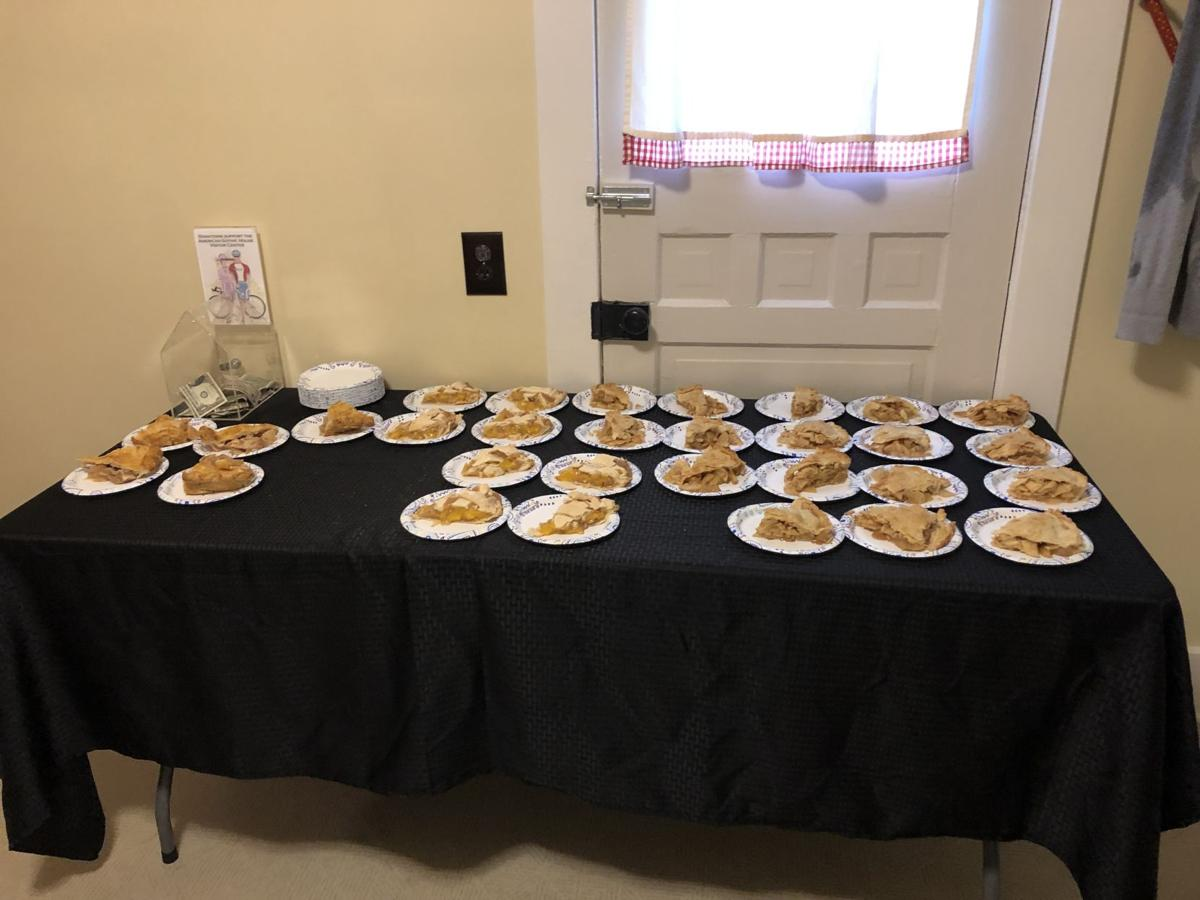 Pie inside AGH