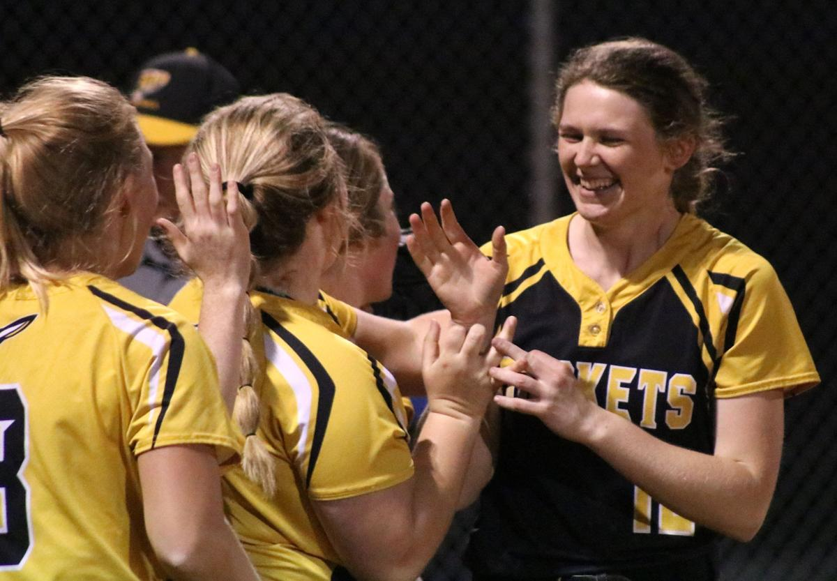 Softball: Taylor leads Rockets past No. 3 Albia
