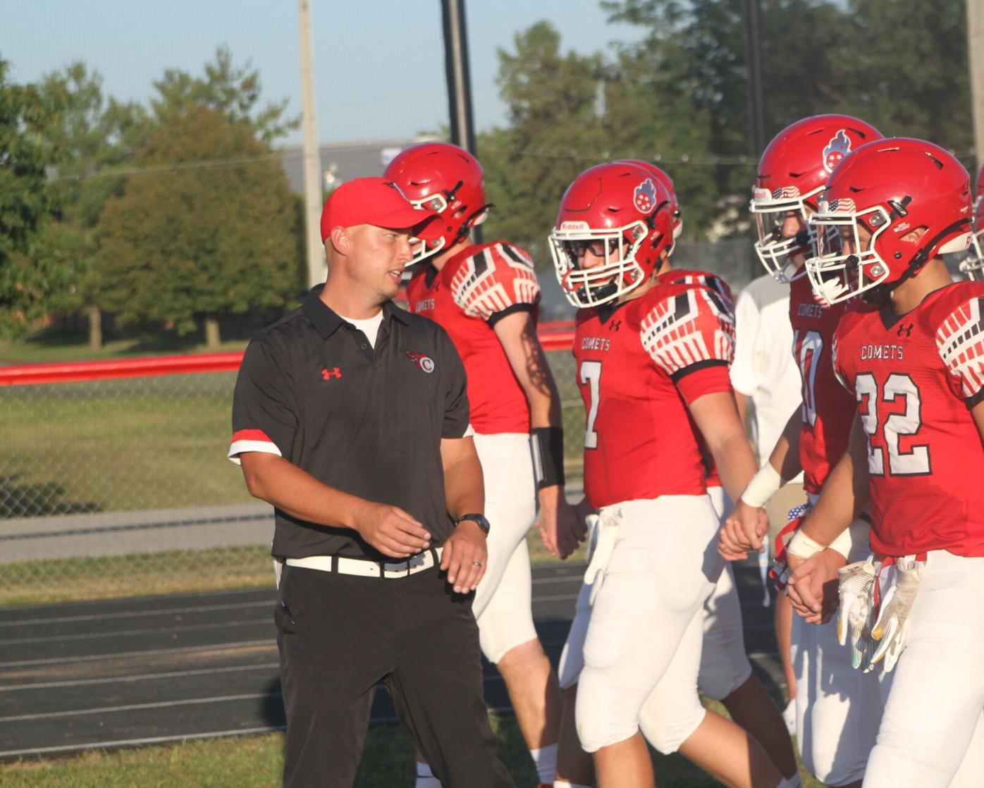 Miller named All-Courier football coach (2-6 column photo)
