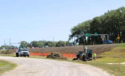 Highway 63 construction