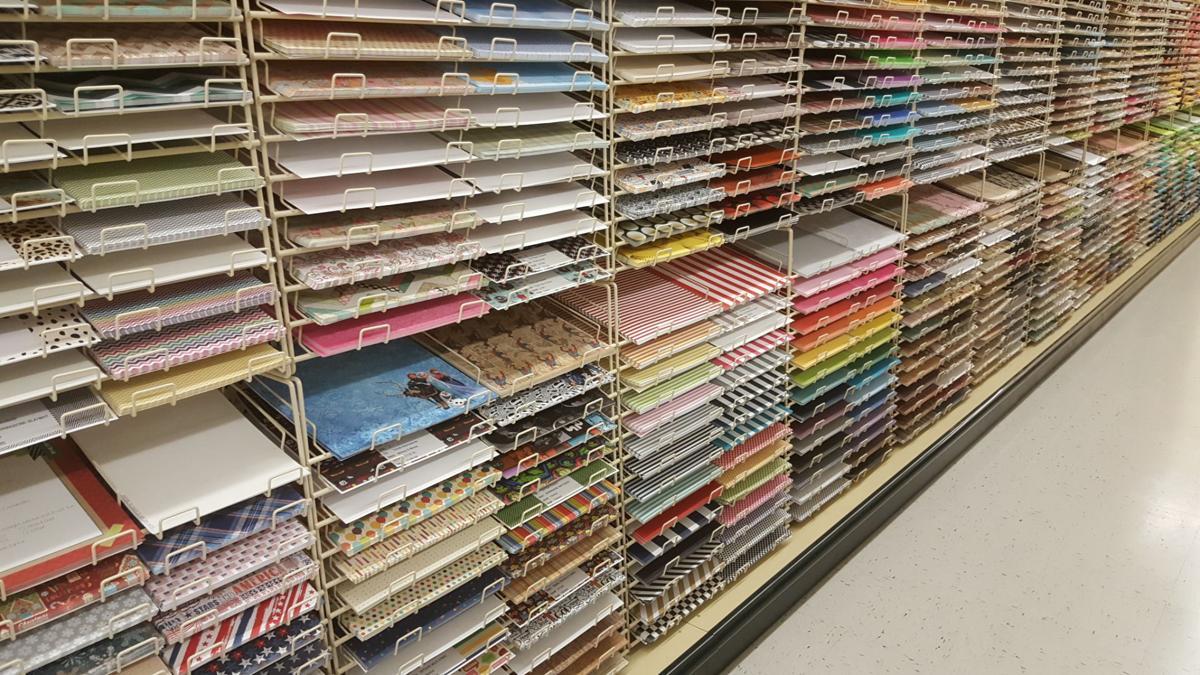 Shelves being stocked inside Hobby Lobby   News